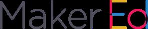 Maker Ed Logo - Horizontal